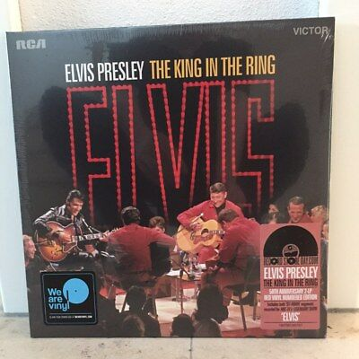 2LP Elvis Presley The King In The Ring RSD 2018 68 Comeback record store day