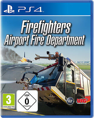 PS4 Airport Feuerwehr - Die Simulation NEU&OVP Playstation 4 Firefighters Fire