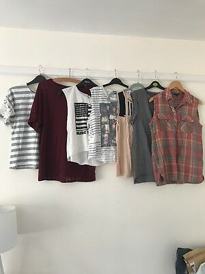 Womens Bundle Of Tops Size 12 Topshop River Island