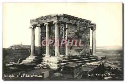CPA Grece Greece Temple of Nike Athens