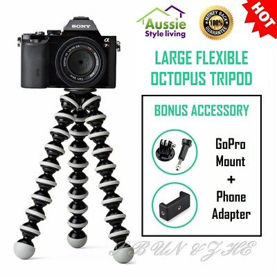 Large Flexible Octopus Tripod Gorillapod 10x Support For Phone GoPro Camera DSLR