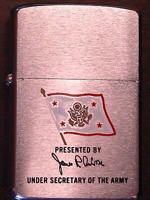 UNDER SECRETARY OF THE ARMY PRESENTED BY James R Ambrose Zippo 1984 NOS