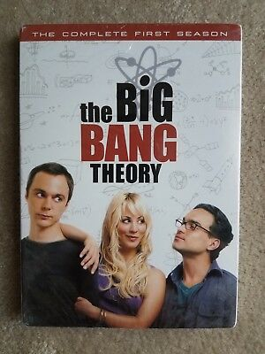 Big Bang Theory - The Complete First Season (DVD, 2008, 3-Disc Set) Brand New