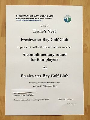 Complimentary 4 Ball At Freshwater Bay Golf Club (Golf Gift)