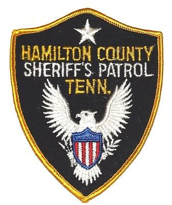 HAMILTON COUNTY – SHERIFF'S PATROL – TENNESSEE TN Police Sheriff Patch VINTAGE ~