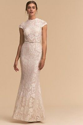 BHLDN Anthropologie Hastings Wedding Dress, Ivory, Size 0, Never Worn, Sold Out