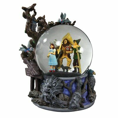 SAN FRANCISCO MUSIC BOX  Wizard of Oz Haunted Forest Water Globe Doesn't Play