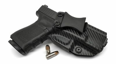 IWB INSIDE WAISTBAND Gun Holster Kydex w/ Belt Clip For Ruger LC9/380 w/LaserMax