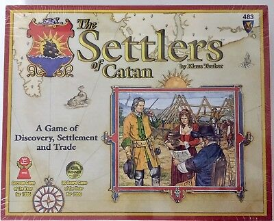 Settlers of Catan - Mayfair Games #483 - 3rd Edition - Sealed - Free Shipping