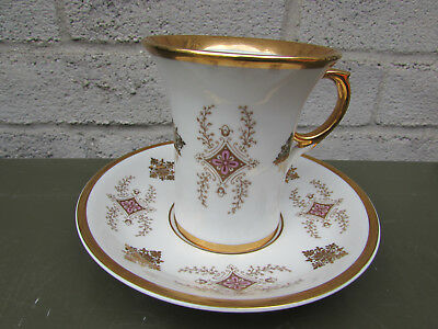 Vintage Rare H&C Viden China Tea Cup and Saucer New in Box A41-173