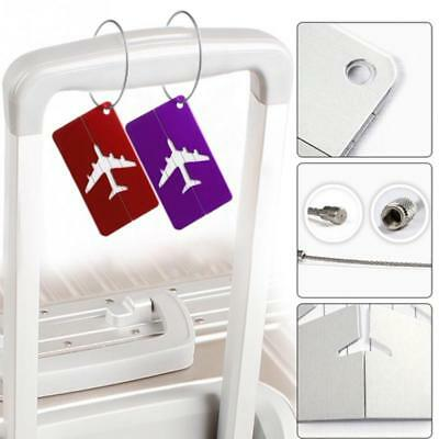 New Aluminum Metal Travel Luggage Label Suitcase Name ID Address Tags US STOCK