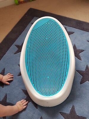 Angelcare Soft Touch Baby Bath Support - Blue