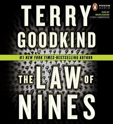 The Law of Nines by Terry Goodkind (Ex-Library, CD, Unabridged)
