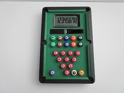Pool Table Calculator (With Solar Power)