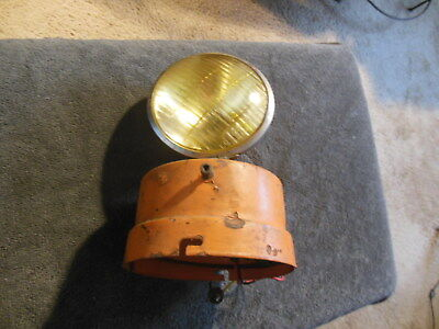 "Vintage Julian A. McDermott ""PULS-LITE"" Caution Light, CORONA, NYC,  UNTESTED"