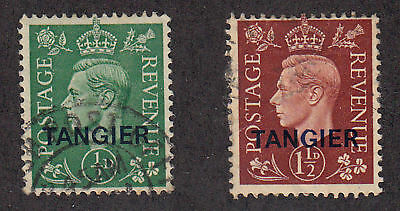 Great Britain-Offices in Morocco - 1937 - SC 515,517 - Used