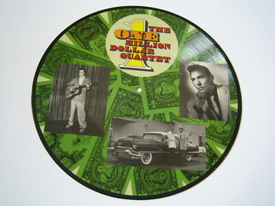 Picture Disc The One Million Dollar Quartet Disc 1 einer Picture DLP ohne Cover