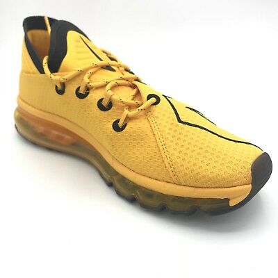 c1f122857c Nike Air Max Flair UpTempo University Gold Yellow Black Mens Trainers  942236 700