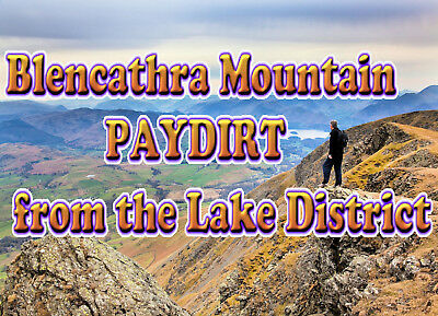 GOLD PAY DIRT 3 lbs* or 1360gr Of 🇬🇧BEST YET🇬🇧The Lake District PayDirt