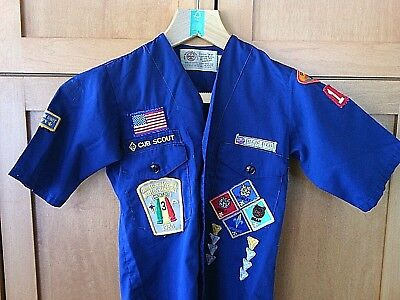 Scouts Shirt BSA Boy Cub South Florida Council Troop 118 Youth Neck Size 10 Kids