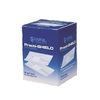 Box of 36 WNL CPR Facial Shields For Training masks