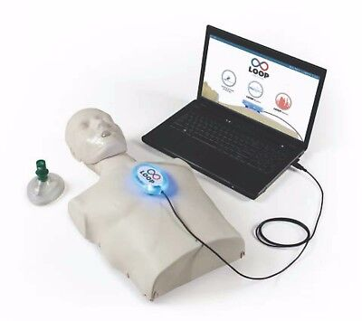 Loop CPR Feedback Device - Make CPR fun to learn!      training shields mask