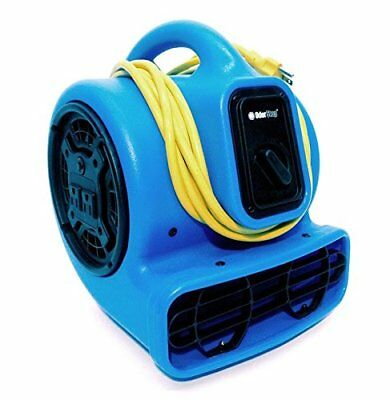 OdorStop OS1000 - Professional Grade 1000 CFM Compact Air Mover w/GFCI Outlet