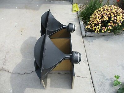 1 pair Altec-Lansing 806A drivers 8 ohm mated to 811B horns