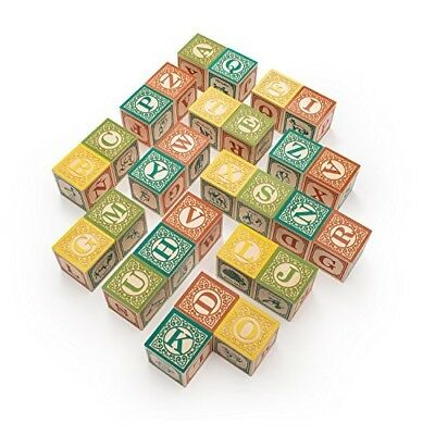 Uncle Goose Spanish ABC Blocks - Made in USA. Delivery is Free