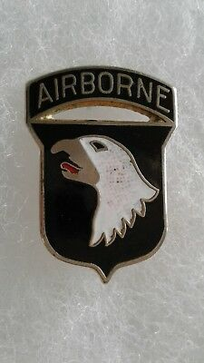 Vintage US Army 101st Airborne Division Hat Lapel Pin Commemorative Veteran