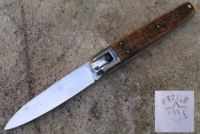 Ancien Gros Couteau type chasse Manufrance  Old Knife