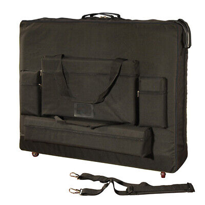 """NEW! 30"""" WIDTH MASSAGE TABLE UNIVERSAL CARRYING CASE BAG - DELUXE MODEL w/WHEELS"""