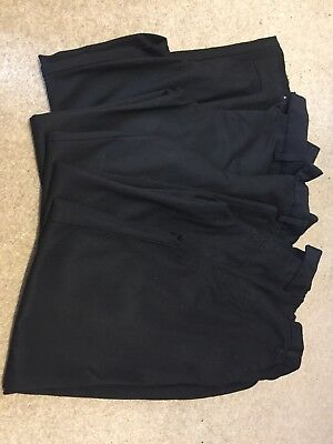 6 black school trousers size 10-11 years Next &M&S