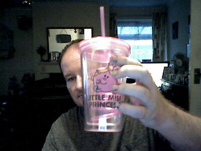 Little Miss Princess Tumbler With Straw Perfect Birthday Gift Free Uk Post