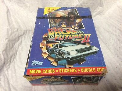Topps 1989 Back to the Future II Wax Box - 36 packs