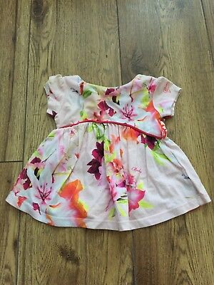 ted baker baby girl 3-6 Top Floral Print