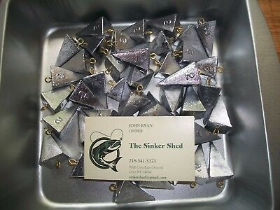 24 oz bank sinkers choose quantity 3//6//12//25//40 FREE SHIPPING weights