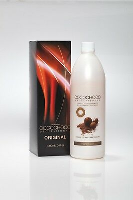 COCOCHOCO BRAZILIAN KERATIN TREATMENT blow dry / HAIR STRAIGHTENING 1 LITRE (UK)