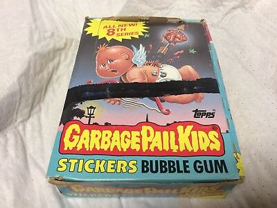 Topps 1987 Garbage Pail Kids 8th Series Wax Box - 48 packs