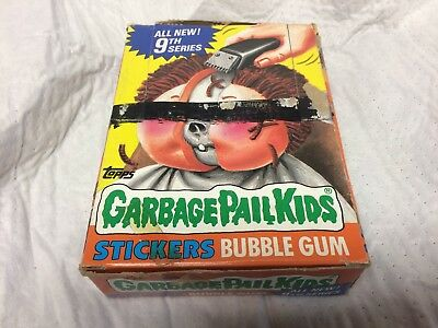Topps 1987 Garbage Pail Kids 9th Series Wax Box - 48 packs