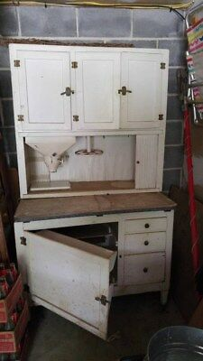 Antique Hoosier Cabinet Early 1900's