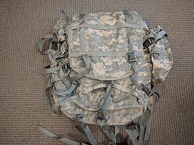 !!THIS THE ONE YOU WANT!!  Digital Camo Molle II Large Backpack COMPLETE!