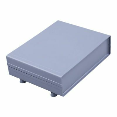 Plastic Electrical Enclosure Junction Box Case 152x120x42mm Light Grey E9Z4