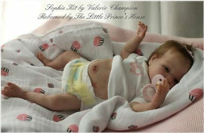 Sophie reborn doll kit by Val Champion   (UK) LTD Edition. Body included.