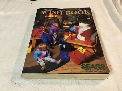 1992 Sears Roebuck Wish Book Christmas Catalog