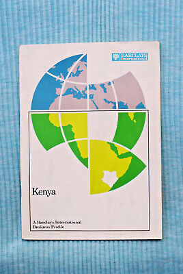Kenya - A Barclays Business Profile - 1973, 48 pages - Africa