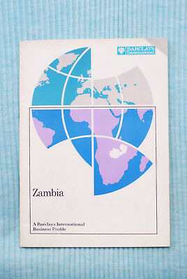 Zambia - A Barclays Business Profile - 1973, 36 pages.