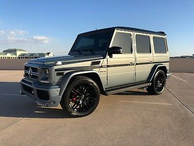 2007 Mercedes-Benz G-Class G55 AMG BRABUS UPGRADES, G63 UPDATES NAV BAC HEATED SEATS LOW MILE CLEAN CARFAX