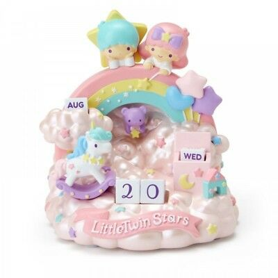 New Sanrio  Little Twin Stars Diorama perpetual calendar 2019 From Japan F/S