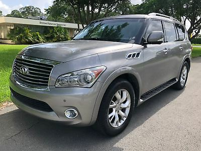2011 Infiniti QX56 Navigation,backup,dvd,leather,3rdseat, 2011 infiniti qx56